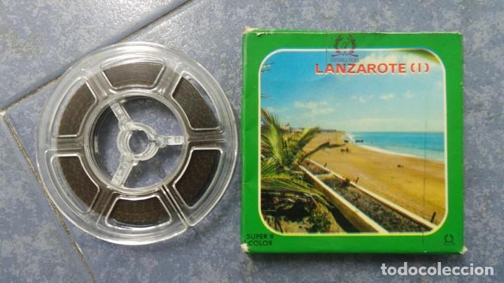 LANZAROTE DOCUMENTAL PELÍCULA SUPER 8MM RETRO VINTAGE FILM (Cine - Películas - Super 8 mm)