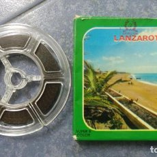 Cine: LANZAROTE DOCUMENTAL PELÍCULA SUPER 8MM RETRO VINTAGE FILM. Lote 144780642