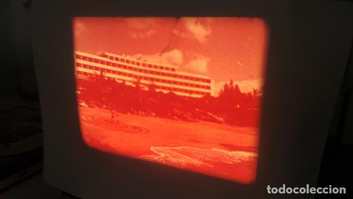 Cine: LANZAROTE DOCUMENTAL PELÍCULA SUPER 8MM RETRO VINTAGE FILM - Foto 10 - 144780642