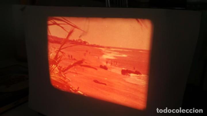 Cine: LANZAROTE DOCUMENTAL PELÍCULA SUPER 8MM RETRO VINTAGE FILM - Foto 18 - 144780642
