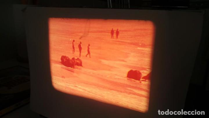 Cine: LANZAROTE DOCUMENTAL PELÍCULA SUPER 8MM RETRO VINTAGE FILM - Foto 20 - 144780642