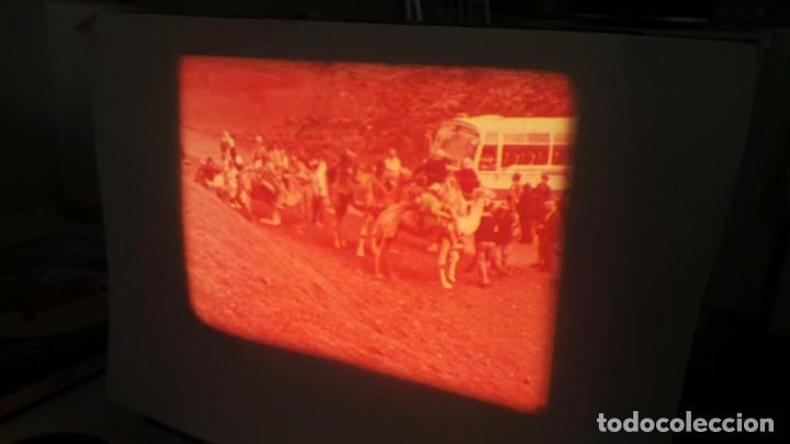 Cine: LANZAROTE DOCUMENTAL PELÍCULA SUPER 8MM RETRO VINTAGE FILM - Foto 25 - 144780642