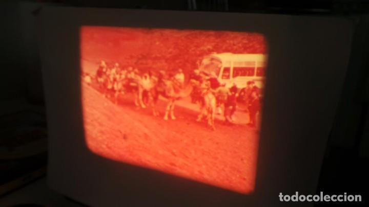 Cine: LANZAROTE DOCUMENTAL PELÍCULA SUPER 8MM RETRO VINTAGE FILM - Foto 26 - 144780642