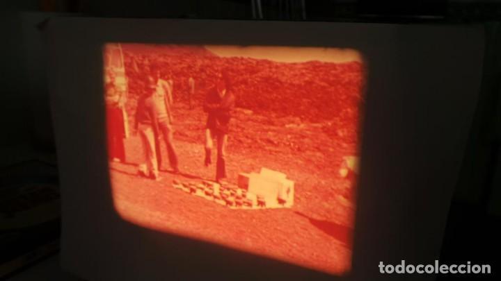 Cine: LANZAROTE DOCUMENTAL PELÍCULA SUPER 8MM RETRO VINTAGE FILM - Foto 31 - 144780642