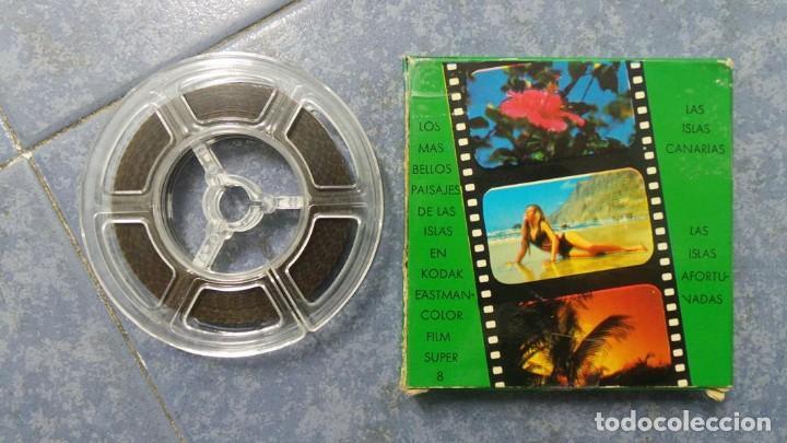 Cine: LANZAROTE DOCUMENTAL PELÍCULA SUPER 8MM RETRO VINTAGE FILM - Foto 42 - 144780642
