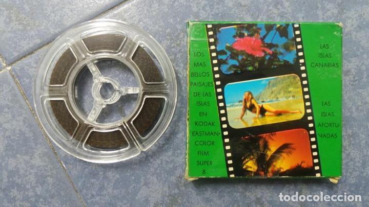 Cine: LANZAROTE DOCUMENTAL PELÍCULA SUPER 8MM RETRO VINTAGE FILM - Foto 43 - 144780642