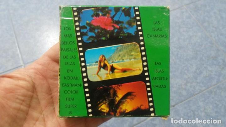 Cine: LANZAROTE DOCUMENTAL PELÍCULA SUPER 8MM RETRO VINTAGE FILM - Foto 45 - 144780642