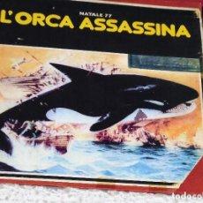 Cine: ORCA. LA BALLENA ASESINA - LARGOMETRAJE. Lote 145047154