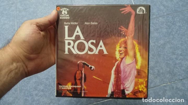LA ROSA(THE ROSE) REDUCCIÓN PELÍCULA SUPER 8 MM VINTAGE FILM, 1 X120 MTS (Cine - Películas - Super 8 mm)