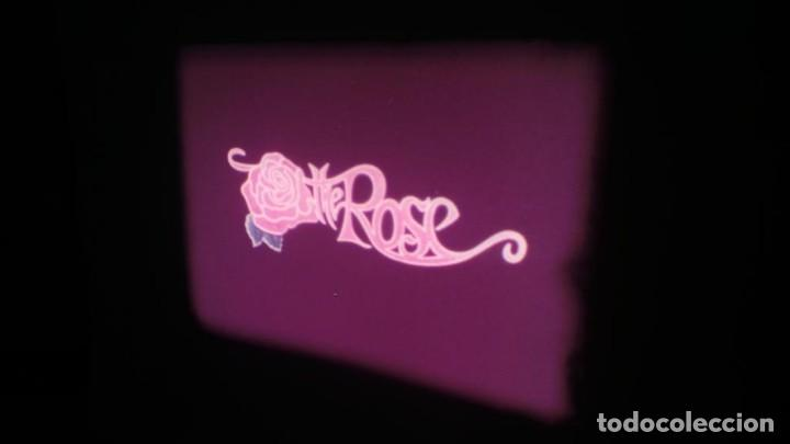 Cine: LA ROSA(THE ROSE) REDUCCIÓN PELÍCULA SUPER 8 MM VINTAGE FILM, 1 X120 MTS - Foto 2 - 145151566