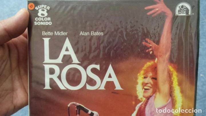 Cine: LA ROSA(THE ROSE) REDUCCIÓN PELÍCULA SUPER 8 MM VINTAGE FILM, 1 X120 MTS - Foto 107 - 145151566