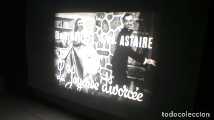 Cine: LA ALEGRE DIVORCIADA(JOYSE DIVORCEE) FRED ASTAIRE y GINGER ROGERS CORTOMETRAJE PELÍCULA SUPER 8 MM - Foto 5 - 146240602