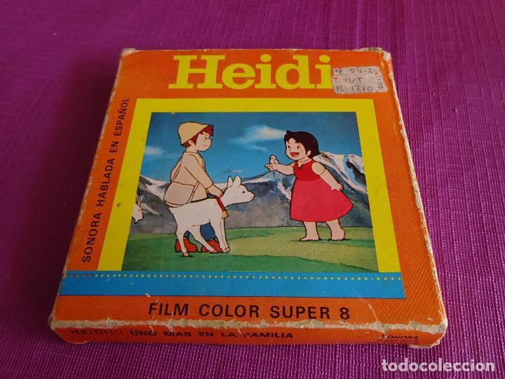 PELÍCULA SUPER 8. HEIDI. UNO MÁS EN LA FAMILIA (AÑOS 80) (Cine - Películas - Super 8 mm)
