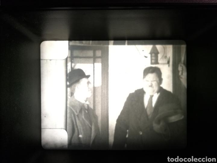 Kino: PELICULA 8 mm LAUREL Y HARDY. OJO X OJO. DOS BOBINAS DE160 MTS.TITULOS EN FRANCES - Foto 4 - 147495650