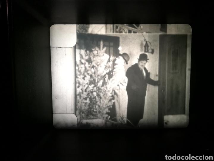 Kino: PELICULA 8 mm LAUREL Y HARDY. OJO X OJO. DOS BOBINAS DE160 MTS.TITULOS EN FRANCES - Foto 5 - 147495650
