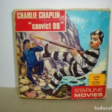 Cine: PELICULA SUPER 8 MM. CHARLIE CHAPLIN EN CONVICT 99 - STARLINE MOVIES. Lote 147766994