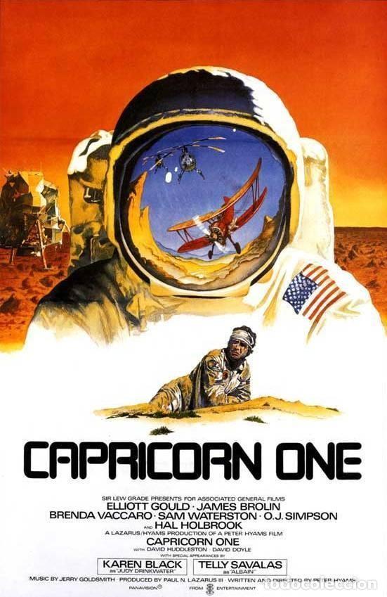 CAPRICORNIO UNO - RESÚMEN 1 X 120 - WALTON FILMS - EN INGLÉS - TOP COLOR! (Cine - Películas - Super 8 mm)
