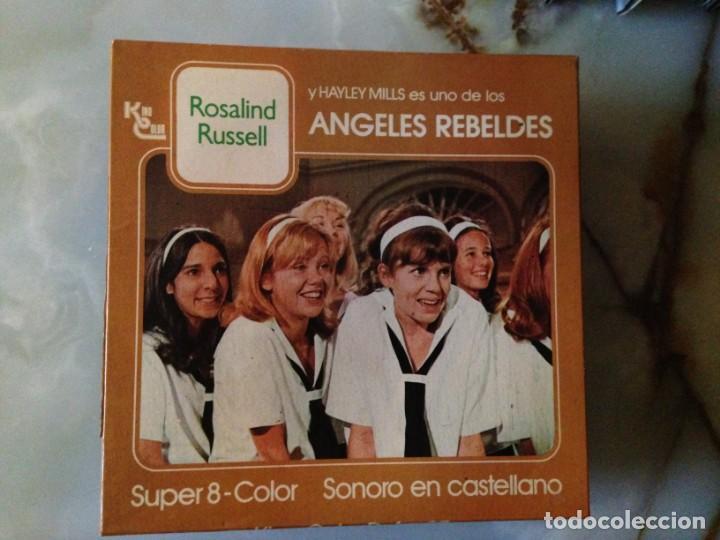 PELÍCULA SUPER 8 - ANGELES REBELDES (Cine - Películas - Super 8 mm)