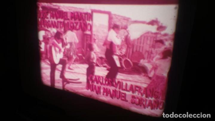Cine: LOS TARANTOS-ANTONIO GADES, PELÍCULA-SUPER 8 MM-4 x 180 MTS. RETRO-VINTAGE FILM - Foto 4 - 148960698