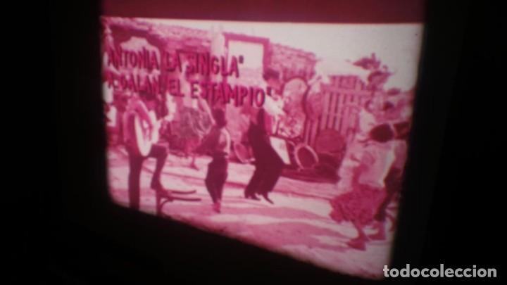 Cine: LOS TARANTOS-ANTONIO GADES, PELÍCULA-SUPER 8 MM-4 x 180 MTS. RETRO-VINTAGE FILM - Foto 5 - 148960698