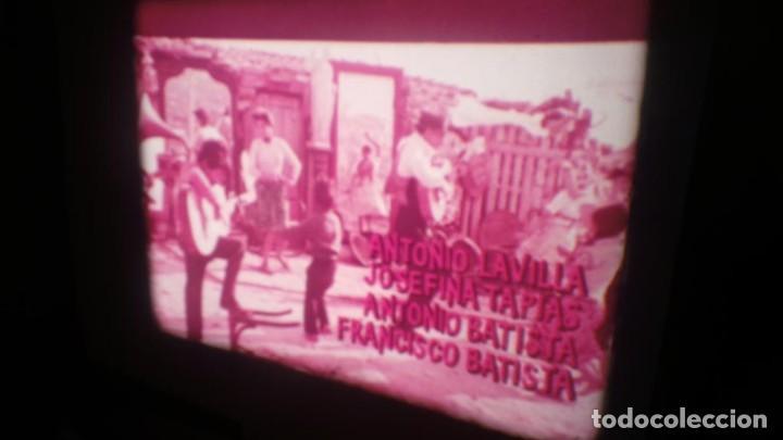 Cine: LOS TARANTOS-ANTONIO GADES, PELÍCULA-SUPER 8 MM-4 x 180 MTS. RETRO-VINTAGE FILM - Foto 6 - 148960698