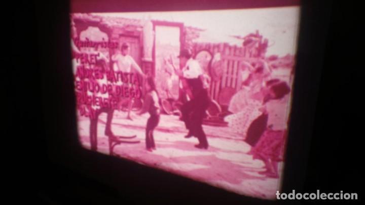 Cine: LOS TARANTOS-ANTONIO GADES, PELÍCULA-SUPER 8 MM-4 x 180 MTS. RETRO-VINTAGE FILM - Foto 7 - 148960698