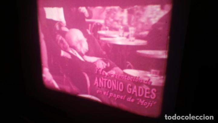 Cine: LOS TARANTOS-ANTONIO GADES, PELÍCULA-SUPER 8 MM-4 x 180 MTS. RETRO-VINTAGE FILM - Foto 8 - 148960698