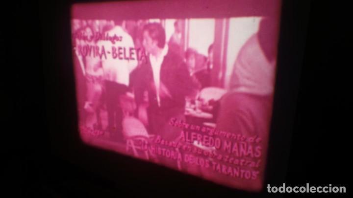 Cine: LOS TARANTOS-ANTONIO GADES, PELÍCULA-SUPER 8 MM-4 x 180 MTS. RETRO-VINTAGE FILM - Foto 9 - 148960698
