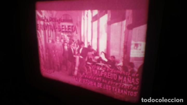 Cine: LOS TARANTOS-ANTONIO GADES, PELÍCULA-SUPER 8 MM-4 x 180 MTS. RETRO-VINTAGE FILM - Foto 10 - 148960698