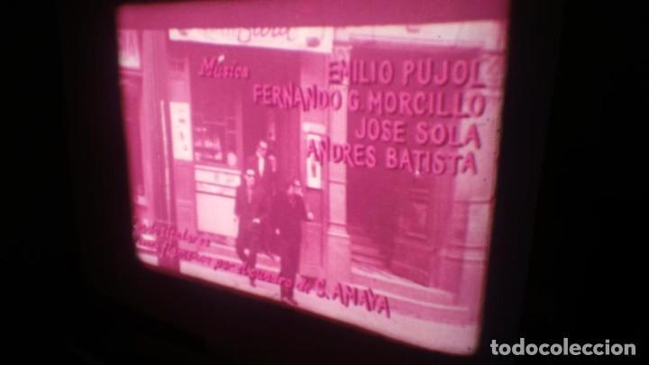 Cine: LOS TARANTOS-ANTONIO GADES, PELÍCULA-SUPER 8 MM-4 x 180 MTS. RETRO-VINTAGE FILM - Foto 11 - 148960698