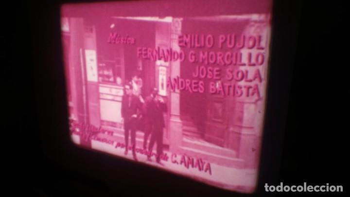 Cine: LOS TARANTOS-ANTONIO GADES, PELÍCULA-SUPER 8 MM-4 x 180 MTS. RETRO-VINTAGE FILM - Foto 12 - 148960698