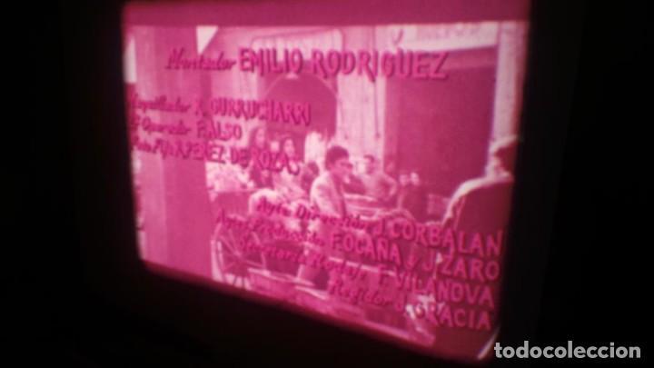 Cine: LOS TARANTOS-ANTONIO GADES, PELÍCULA-SUPER 8 MM-4 x 180 MTS. RETRO-VINTAGE FILM - Foto 13 - 148960698