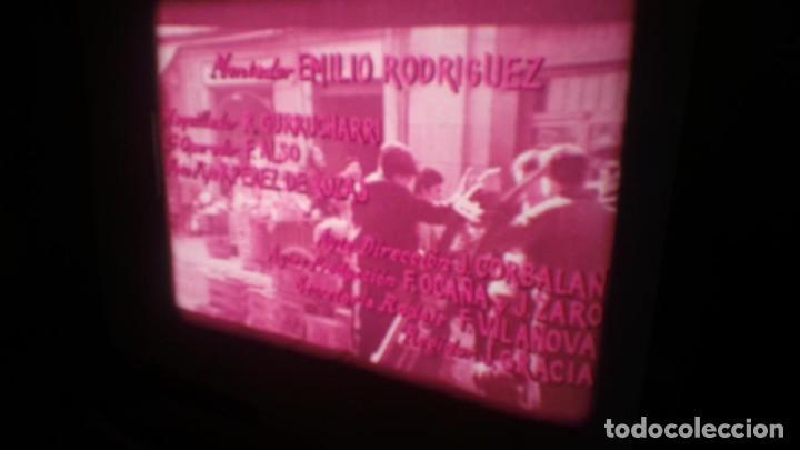 Cine: LOS TARANTOS-ANTONIO GADES, PELÍCULA-SUPER 8 MM-4 x 180 MTS. RETRO-VINTAGE FILM - Foto 14 - 148960698