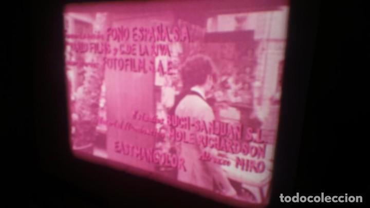 Cine: LOS TARANTOS-ANTONIO GADES, PELÍCULA-SUPER 8 MM-4 x 180 MTS. RETRO-VINTAGE FILM - Foto 15 - 148960698