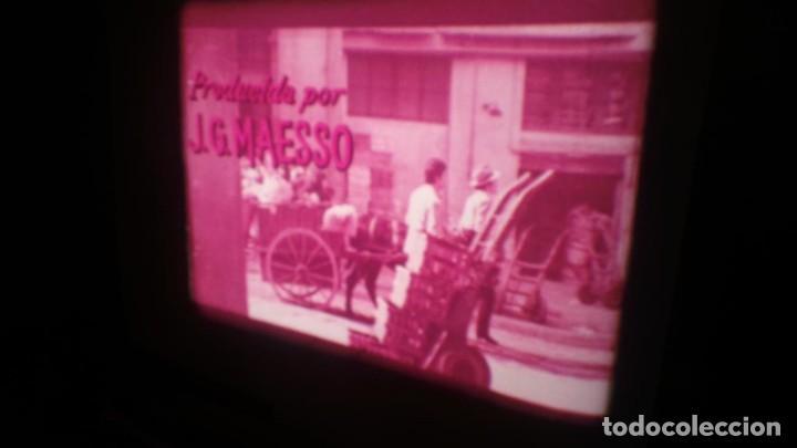 Cine: LOS TARANTOS-ANTONIO GADES, PELÍCULA-SUPER 8 MM-4 x 180 MTS. RETRO-VINTAGE FILM - Foto 16 - 148960698