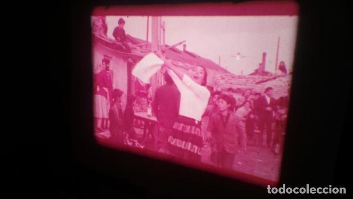 Cine: LOS TARANTOS-ANTONIO GADES, PELÍCULA-SUPER 8 MM-4 x 180 MTS. RETRO-VINTAGE FILM - Foto 27 - 148960698