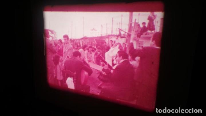 Cine: LOS TARANTOS-ANTONIO GADES, PELÍCULA-SUPER 8 MM-4 x 180 MTS. RETRO-VINTAGE FILM - Foto 29 - 148960698