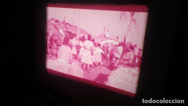 Cine: LOS TARANTOS-ANTONIO GADES, PELÍCULA-SUPER 8 MM-4 x 180 MTS. RETRO-VINTAGE FILM - Foto 31 - 148960698