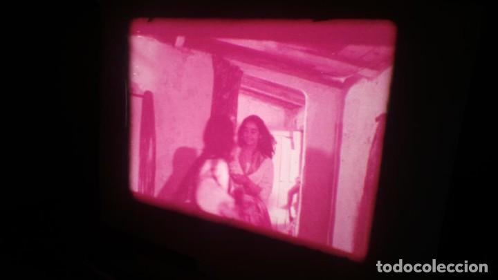 Cine: LOS TARANTOS-ANTONIO GADES, PELÍCULA-SUPER 8 MM-4 x 180 MTS. RETRO-VINTAGE FILM - Foto 33 - 148960698
