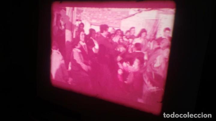 Cine: LOS TARANTOS-ANTONIO GADES, PELÍCULA-SUPER 8 MM-4 x 180 MTS. RETRO-VINTAGE FILM - Foto 34 - 148960698