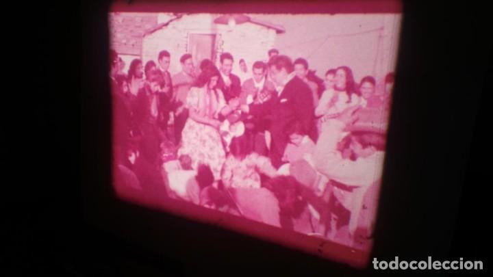 Cine: LOS TARANTOS-ANTONIO GADES, PELÍCULA-SUPER 8 MM-4 x 180 MTS. RETRO-VINTAGE FILM - Foto 35 - 148960698