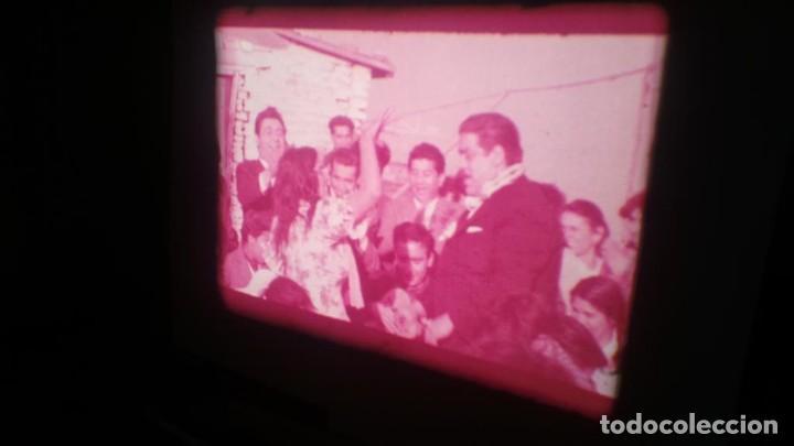 Cine: LOS TARANTOS-ANTONIO GADES, PELÍCULA-SUPER 8 MM-4 x 180 MTS. RETRO-VINTAGE FILM - Foto 36 - 148960698