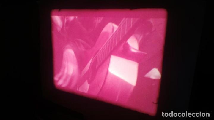 Cine: LOS TARANTOS-ANTONIO GADES, PELÍCULA-SUPER 8 MM-4 x 180 MTS. RETRO-VINTAGE FILM - Foto 37 - 148960698