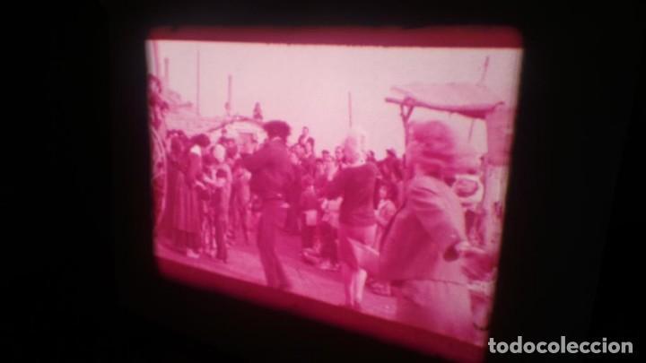 Cine: LOS TARANTOS-ANTONIO GADES, PELÍCULA-SUPER 8 MM-4 x 180 MTS. RETRO-VINTAGE FILM - Foto 46 - 148960698