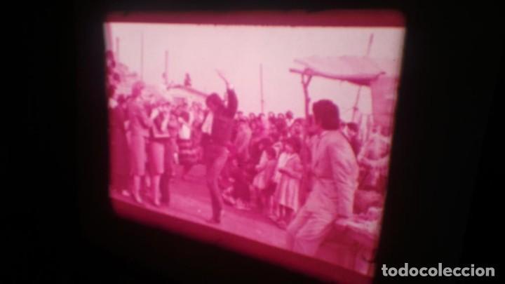 Cine: LOS TARANTOS-ANTONIO GADES, PELÍCULA-SUPER 8 MM-4 x 180 MTS. RETRO-VINTAGE FILM - Foto 48 - 148960698