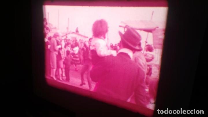 Cine: LOS TARANTOS-ANTONIO GADES, PELÍCULA-SUPER 8 MM-4 x 180 MTS. RETRO-VINTAGE FILM - Foto 49 - 148960698