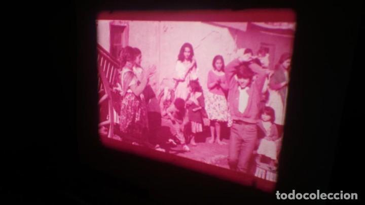 Cine: LOS TARANTOS-ANTONIO GADES, PELÍCULA-SUPER 8 MM-4 x 180 MTS. RETRO-VINTAGE FILM - Foto 54 - 148960698
