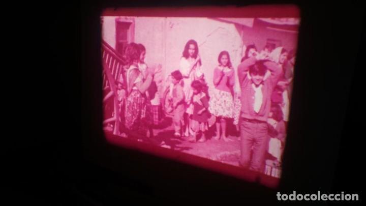 Cine: LOS TARANTOS-ANTONIO GADES, PELÍCULA-SUPER 8 MM-4 x 180 MTS. RETRO-VINTAGE FILM - Foto 55 - 148960698