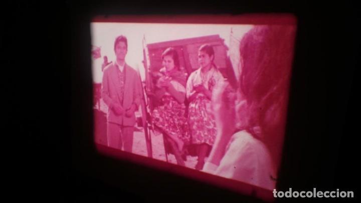 Cine: LOS TARANTOS-ANTONIO GADES, PELÍCULA-SUPER 8 MM-4 x 180 MTS. RETRO-VINTAGE FILM - Foto 59 - 148960698