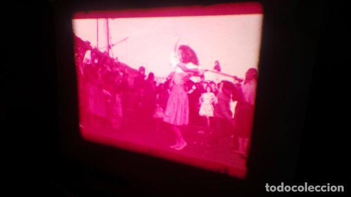 Cine: LOS TARANTOS-ANTONIO GADES, PELÍCULA-SUPER 8 MM-4 x 180 MTS. RETRO-VINTAGE FILM - Foto 67 - 148960698